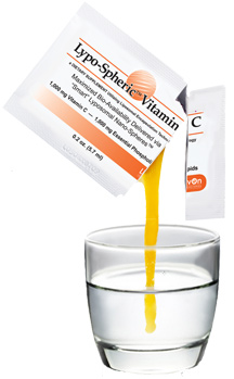 Directions for taking Liposomal Vitamin C