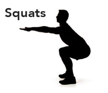 office squats