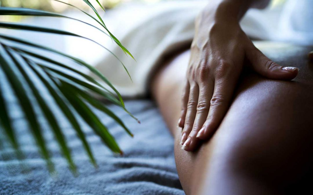 close up shot of hands giving a massage
