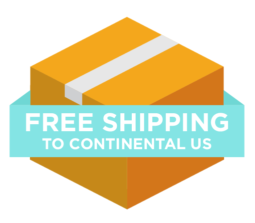 Free shipping to continental US