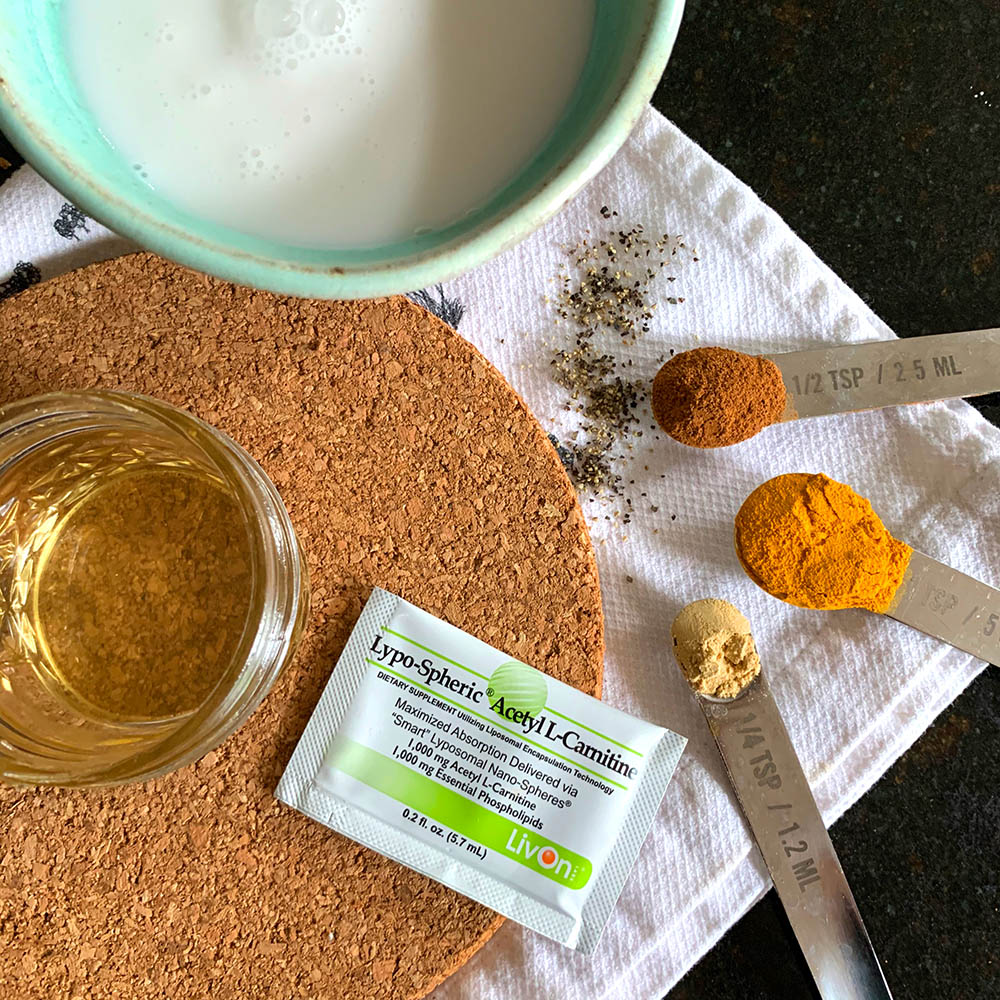 golden milk latte nootropic drink ingredients