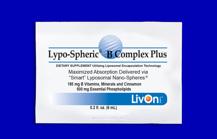 Lypo-Spheric b complex plus packet