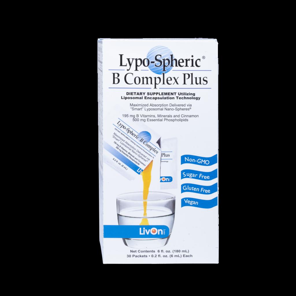 carton of lypo spheric b complex plus