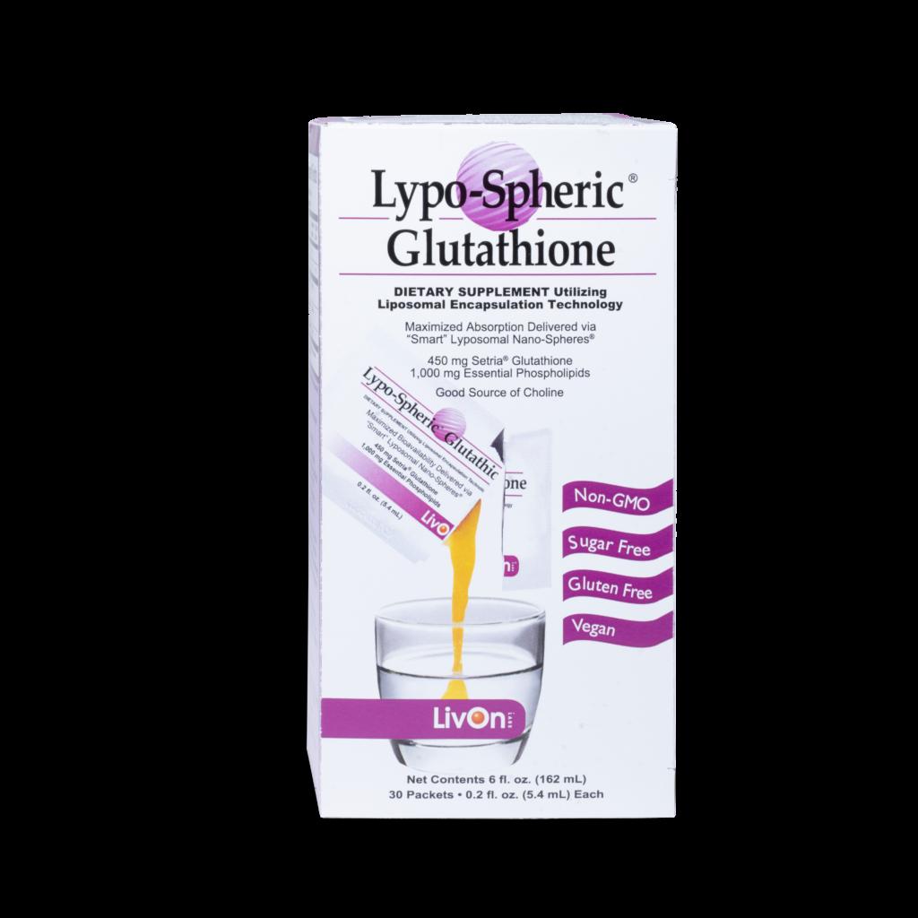 carton of lypo spheric glutathione